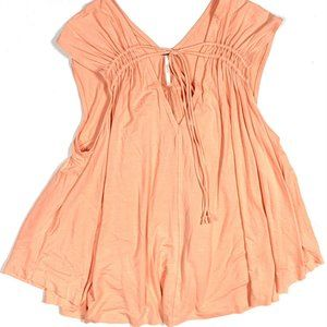 Free People S Back in Town Sleeveless Top Peach